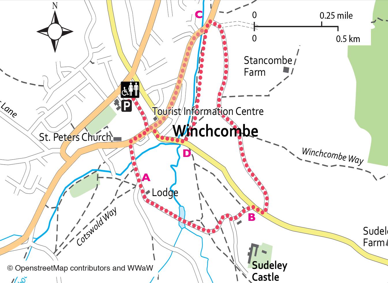 Winchcombe to Sudeley Castle Circular Walk