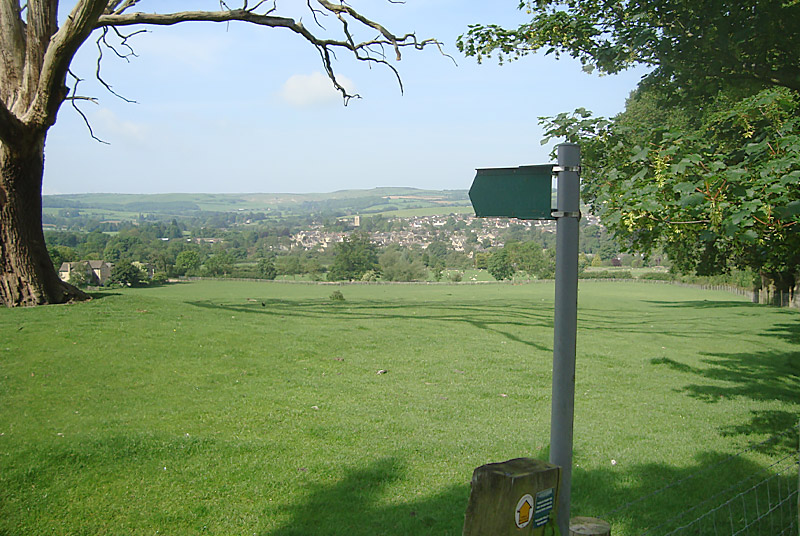 View from Stancombe Lane