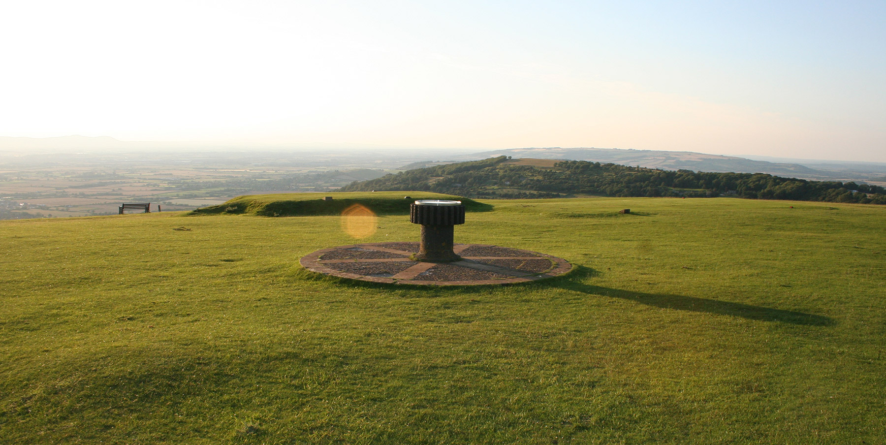 Topograph on Cleeve Common