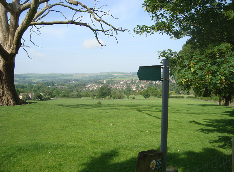 View of Winchcombe, Stancombe Lane