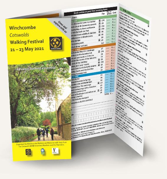 Winchcombe Walking Festival programme